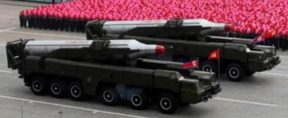 """هام و خطير : كوريا الشمالية شحنت صواريخ"""" الموسودان  BM-25 """" الى ايران  و جرب فيها  Musudan-580x238"""